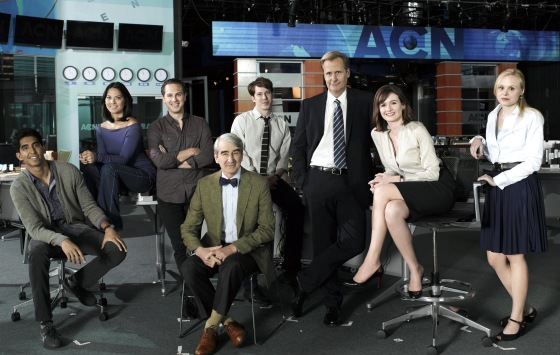 Newsroom cast