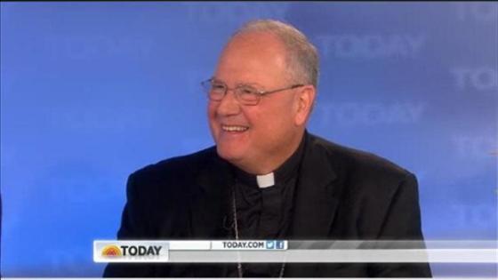 Cardinal Timothy Dolan on TODAY