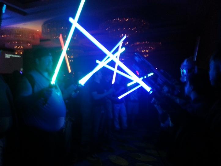 Lightsaber limbo line FTW!