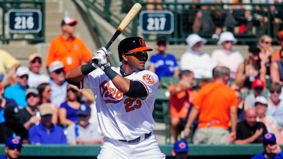 New Orioles outfielder Nelson Cruz
