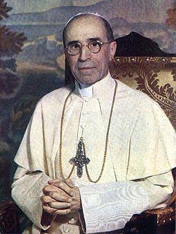 John XXIII's predecessor, Pius XII