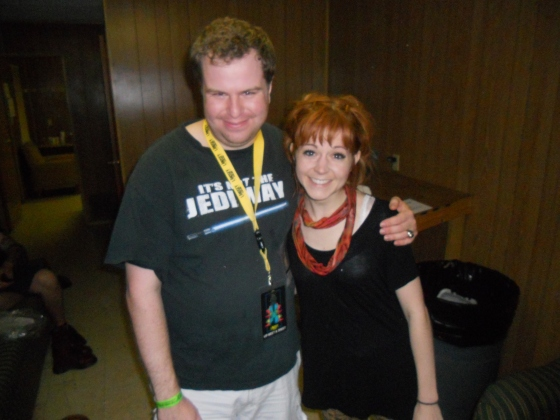 Me and Lindsey!