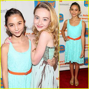 Rowan Blanchard & Sabrina Carpenter