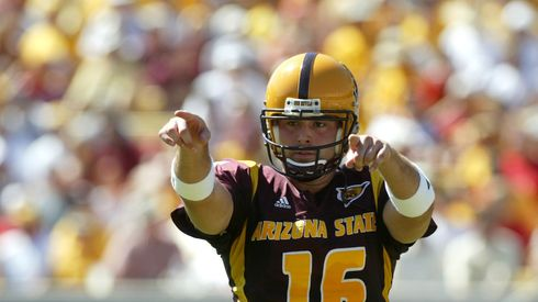 Congressional candidate Andrew Walter, during his days as Arizona State's starting quarterback.