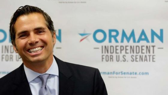 Independent Greg Orman has completely scrambled the Kansas Senate race.