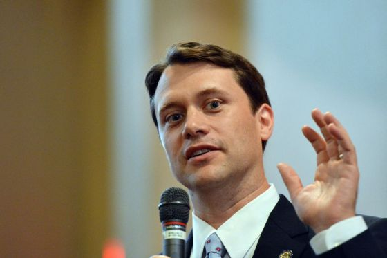 Jason Carter is hoping to knock off an incumbent in Georgia.