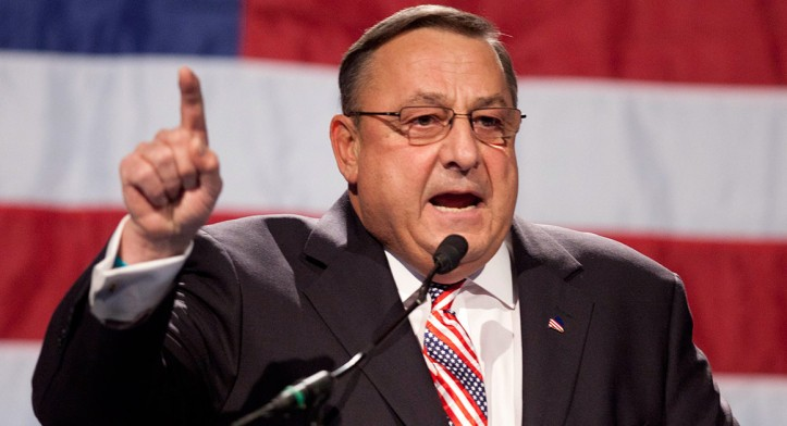 Maine Governor Paul LePage (R)