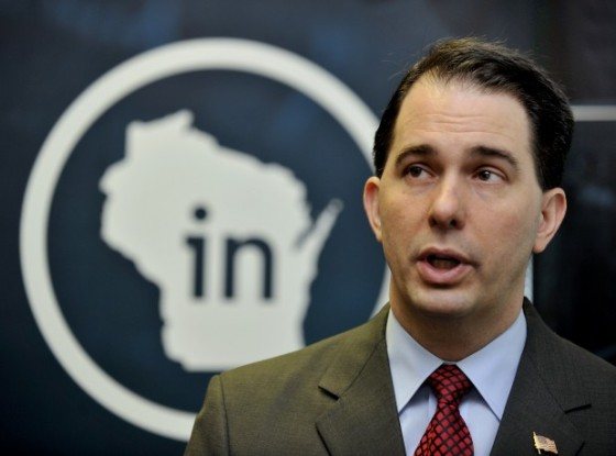 Wisconsin Governor Scott Walker (R) is caught in a tight race for reelection.