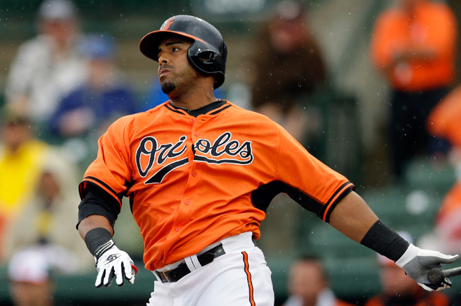 Orioles outfielder Nelson Cruz was the star of the ALDS, going 6-for-12 with 2 homers.  His second homer clinched the series in Game 3.