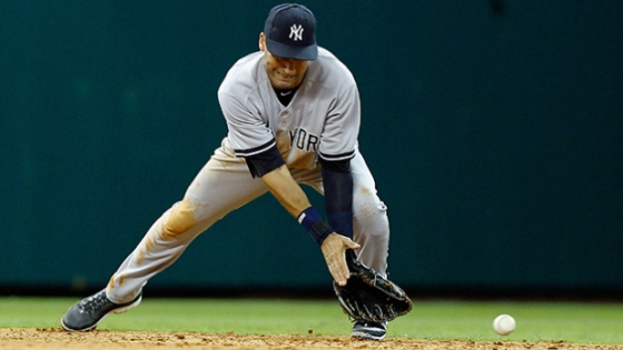 Despite popular opinion, Derek Jeter's defensive stats leave much to be desired.