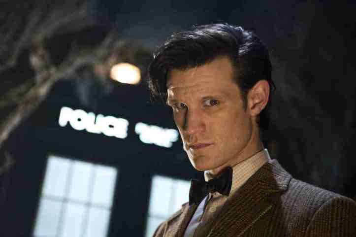 Matt Smith, as the Eleventh Doctor