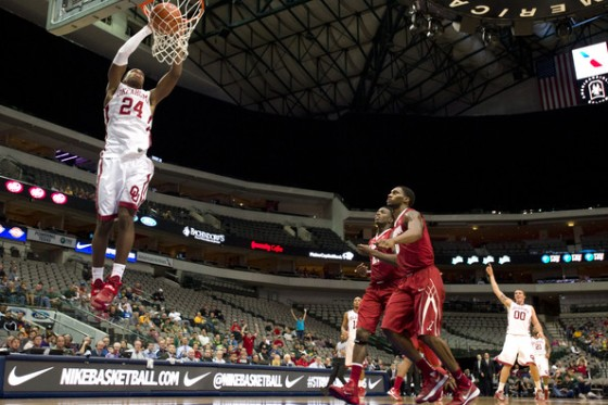 Oklahoma star Buddy Hield will be difficult for UVA to contain in a possible Sweet 16 matchup.