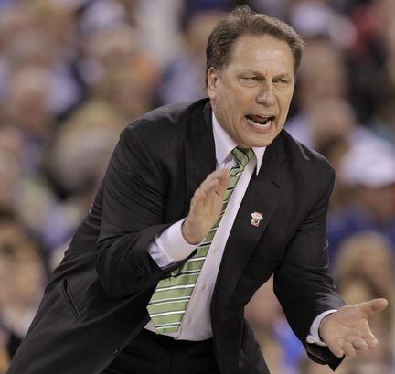 MSU coach Tom Izzo is a brilliant March strategist.