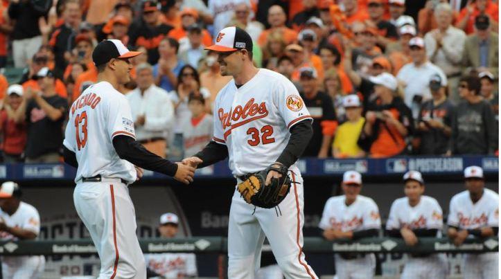 Manny Machado & Matt Wieters