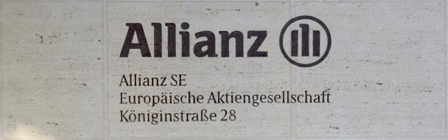 Allianz nameplate