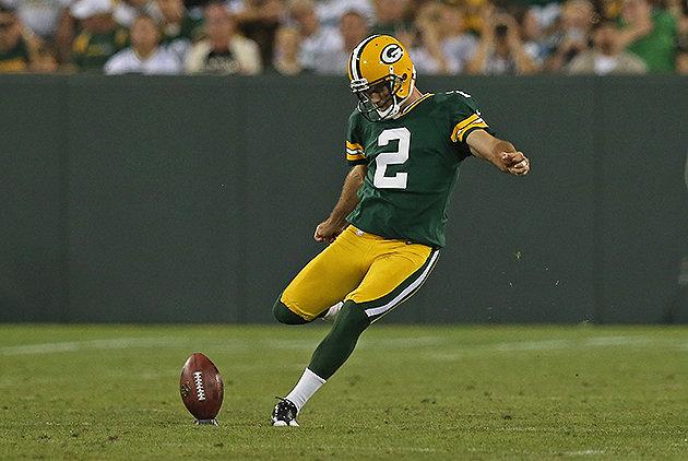 Packers kicker Mason Crosby