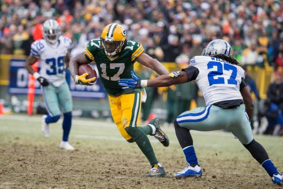 Davante Adams will need to step up in Nelson's absence