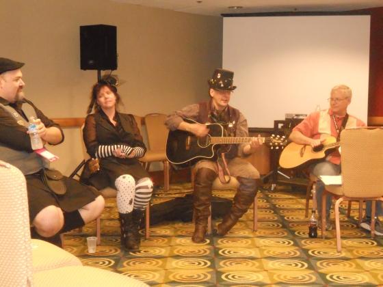 Filkers performing