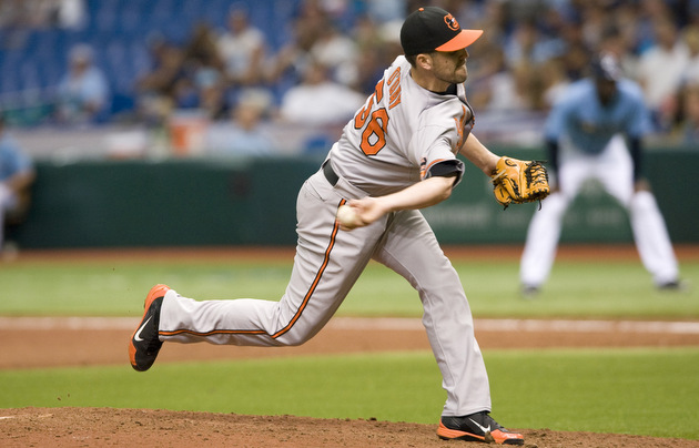 Setup man Darren O'Day is an important, if underrated, piece