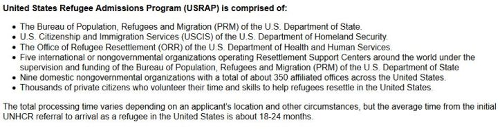 Despite politicians' efforts to paint the refugee resettlement program as lax, its screening process is actually quite strict.
