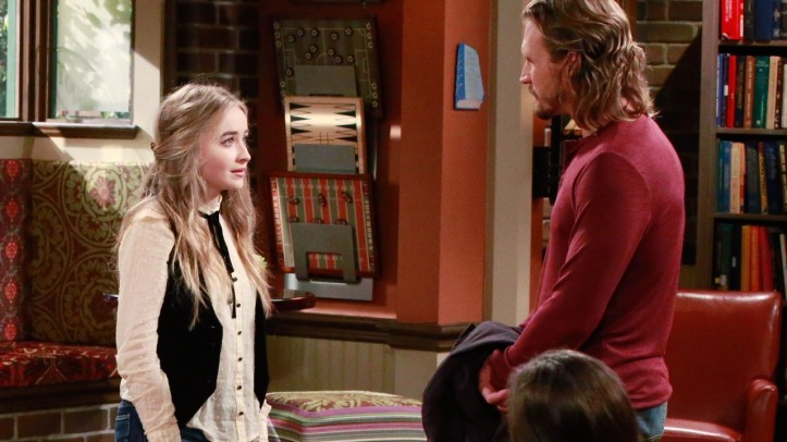 Maya confronts her father over his abandonment when she was a little girl.
