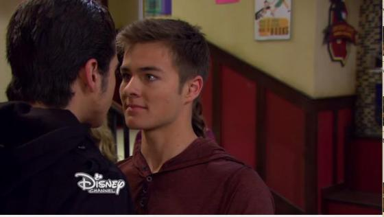 Peyton Meyer (Lucas) came a long way in the acting department this season.