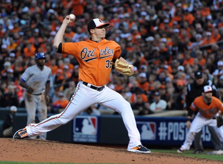 Brad Brach could team with Darren O'Day and Zach Britton to create a formidable 7-8-9 combination at the end of games.
