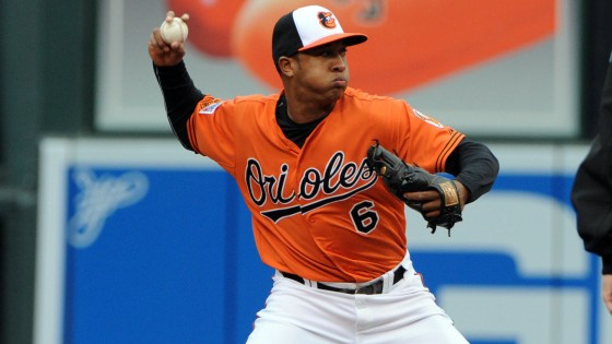Second baseman Jonathan Schoop could be ready for his close-up this season.