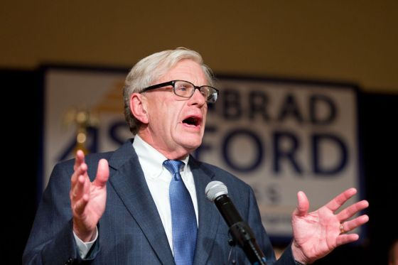 Nebraska Congressman Brad Ashford (D)