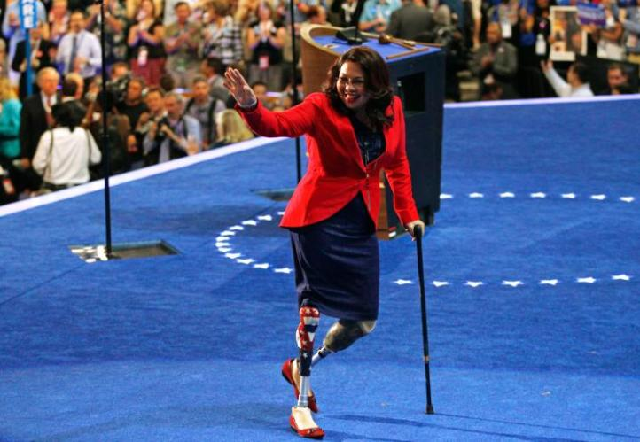 Democrats hope that Tammy Duckworth can take out an incumbent in Illinois.