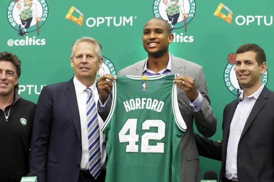 The Celtics welcomed Al Horford to an already solid team.