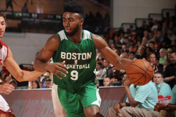 Jaylen Brown may be a forward of the future for Boston.