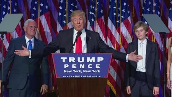 America just elected a borderline sociopath!  Yaaaayyyy!!!
