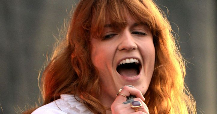 For once, it's nice to hear Florence Welch not sing like she's in a tunnel.